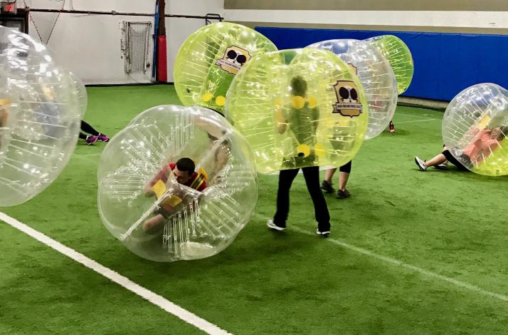 Bubble Soccer Game Experience: In Marlborough, Massachusetts