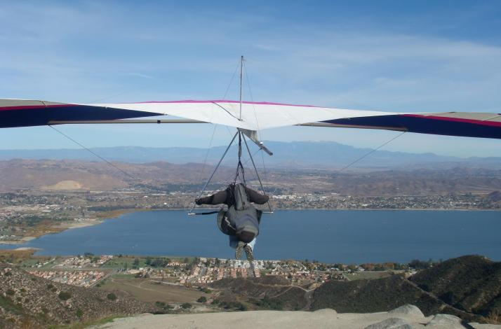 Fly in a Tandem Hang Glider: In San Bernardino, California (1)
