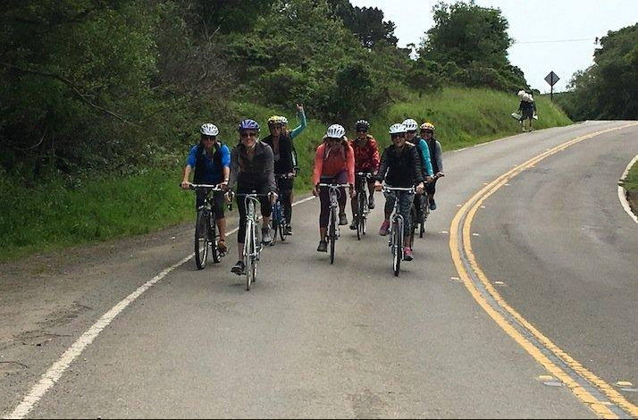 A Marin County Day on the Bike - Paradise Found: In Mill Valley, California