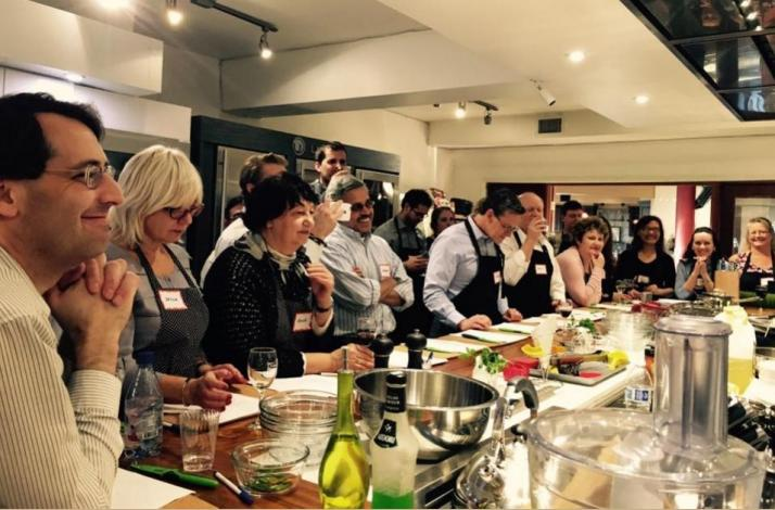 Corporate Team Building Event: Hands-on Cooking Class with Talented 'Local Gem' Chefs: In Redwood City