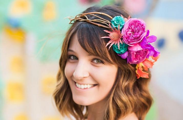 Floral Halo Experience: In Long Beach, California