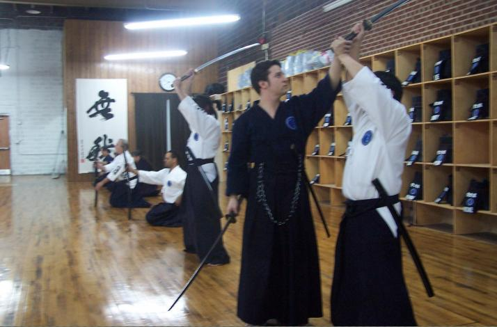 Sword Fighting Classes for Knights and Samurai: In New York