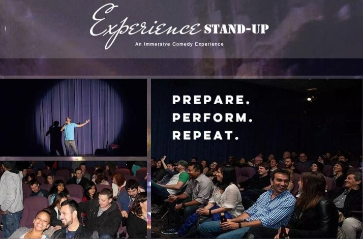 Experience Stand-up — an Immersive Comedy Experiment: In San Francisco, California