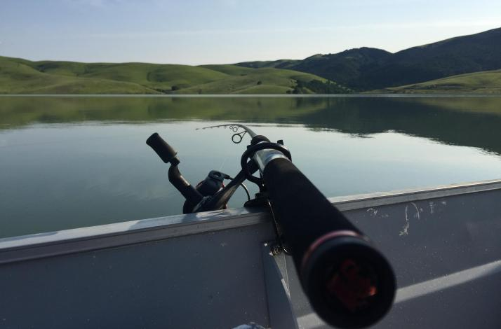Fishing 101 at Los Vaqueros Reservoir: In Livermore