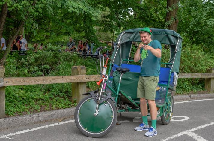 1-Hour Central Park Pedicab Tour: In New York, New York