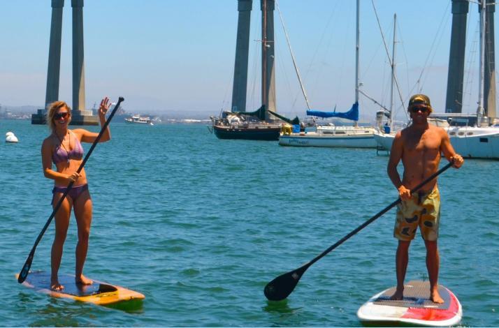 Stand Up Paddle Tour Around Beautiful Coronado: In Coronado, California (1)