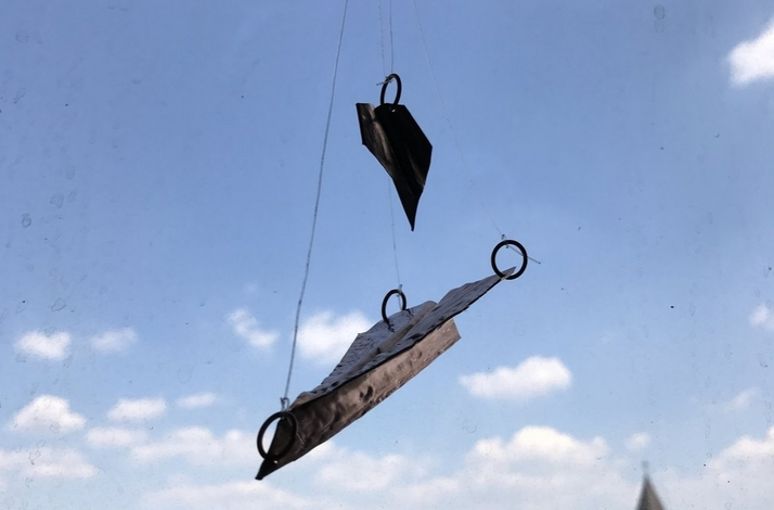 Fold Forming Airplane: Parent and Child Private Workshop with Artisan Metalsmith: In Hoboken, New Jersey (1)