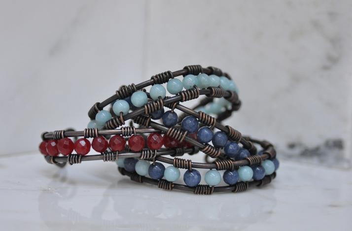 DIY Wire Wrap Cuff Bracelet with Artisan Metalsmith: In Hoboken, New Jersey (1)