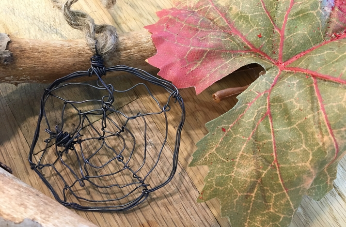 Create a Spiderweb Ornament with an Artisan Metalsmith: In Hoboken, New Jersey (1)