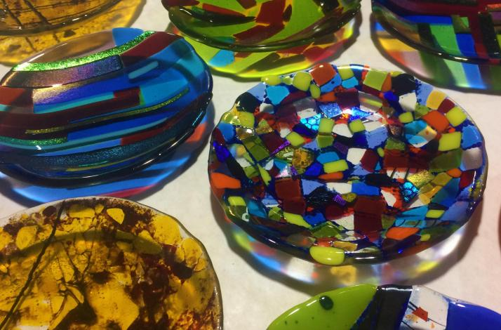 Fused Glass Making Experience: In Las Vegas, Nevada