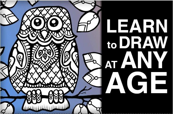 Cartoon Party, Learn to Draw and Decorate Owls and Birds: In Tustin, California