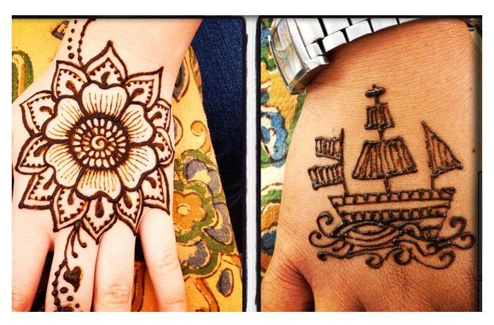 Cool Henna Tattoos at Your Event or Celebration: In Tustin, California