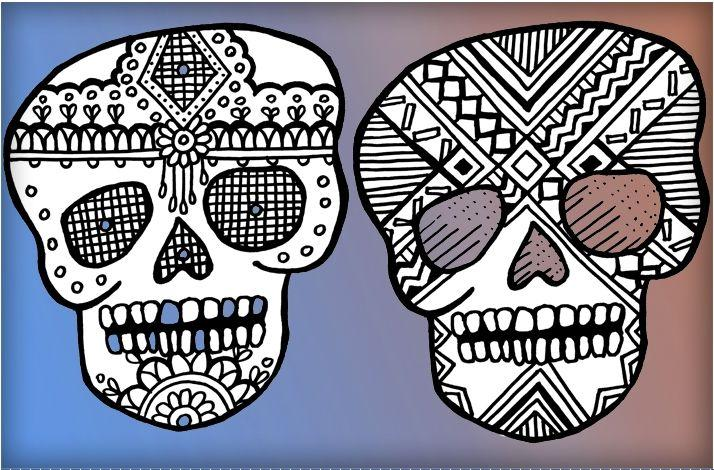 Cartoon Party, Learn to Draw and Decorate Sugar Skulls: In Los Angeles, California (1)