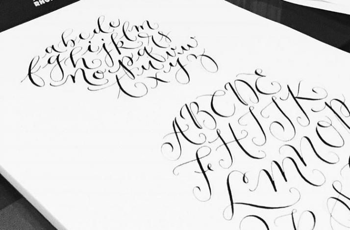 Get Started with Pointed Pen Calligraphy Part One: In Oakland, CA