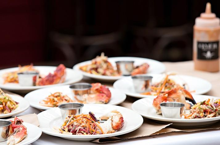 Glamorous Seafood Dinner by Highly Requested Party Planners: In Beverly Hills, California