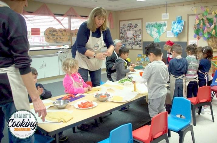 Claire's Cooking Club for Families: Little Chefs, Big Fun: In Los Angeles