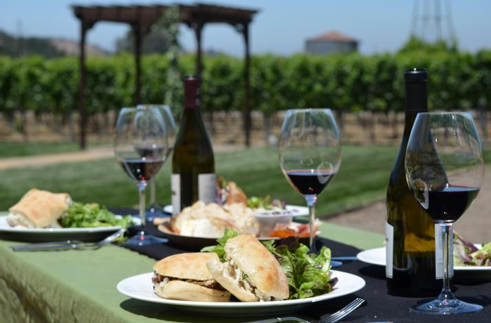 Private Tour Through Vineyard and Picnic Lunch at Zaca Mesa Winery : In Los Olivos, California (1)