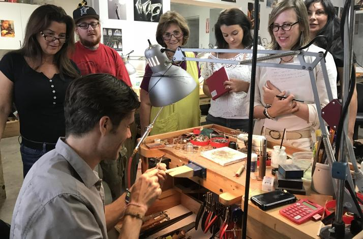 Forge Your Own Ring in Sterling Silver: a Private Jewelry Making Workshop : In North Miami, Florida (1)