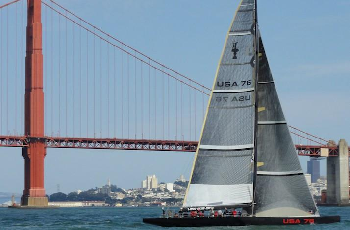 Charter the 85-Foot 20-Person USA 76 Challenger Boat from the 2003 Yacht Races: In San Francisco, California (1)