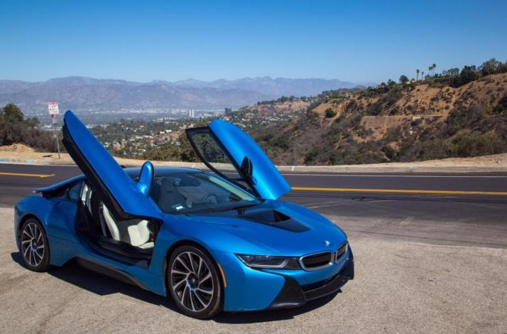 Grand LA Tour in a High-End Sports Car: In Los Angeles, California