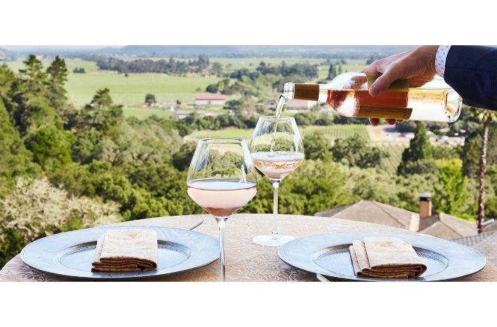 Burgers and Rosé at Auberge du Soleil Patio Bar With Napa Valley Insider Alexis Swanson Traina: In Rutherford, California