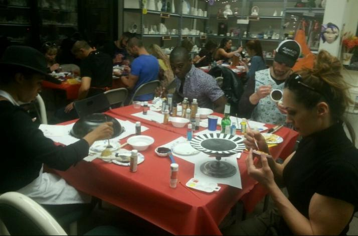 Create Your Own Ceramic Painting in a Private Class: In Las Vegas, Nevada