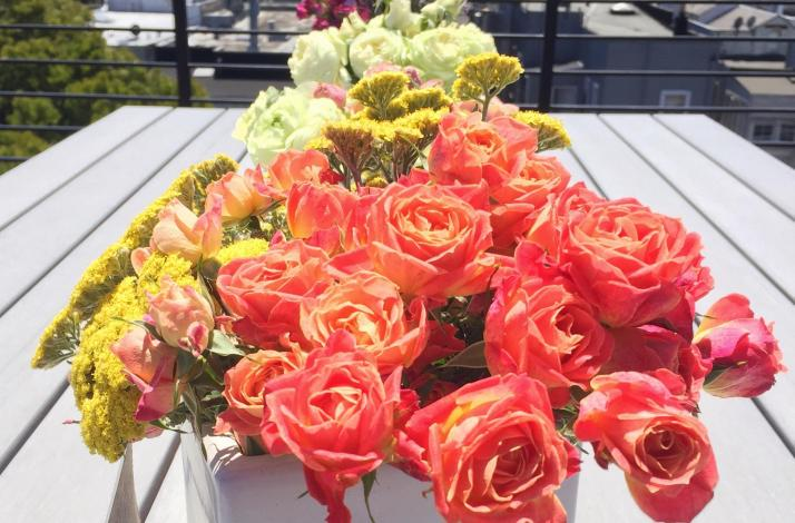Private Floral Centerpiece and Flower Arranging Workshop with SF Flower Mart Tour: In San Francisco, California (1)