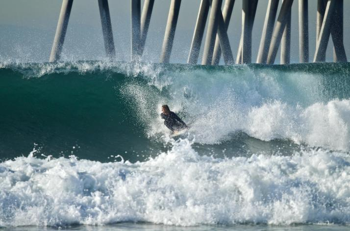 Private Surf Lesson Taught by a Local Surf Master: In Seal Beach, California (1)