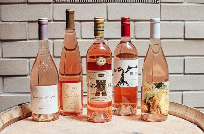 Bouquet of Rosés: A Collection of Pink Wines: In San Francisco, California