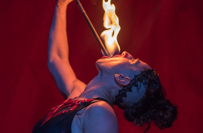 Private Fire Eating Lesson with Professional Circus Performer: In Oakland, California (1)