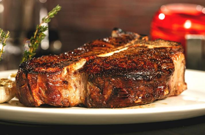 Classic Steakhouse for Four: In New York, New York