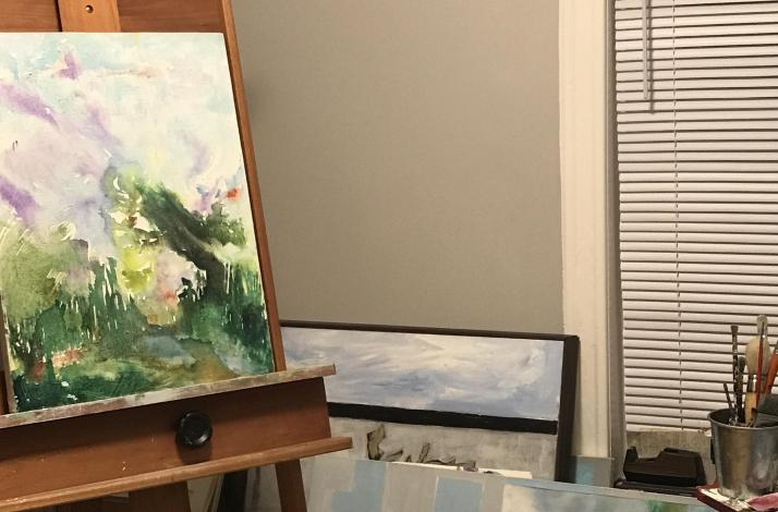 Private Retreat Experience with Painting, Rare Tea and Pastries: In Chicago, Illinois