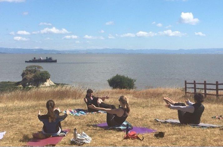 Bayside Yoga at China Camp State Park: In San Rafael, California (1)