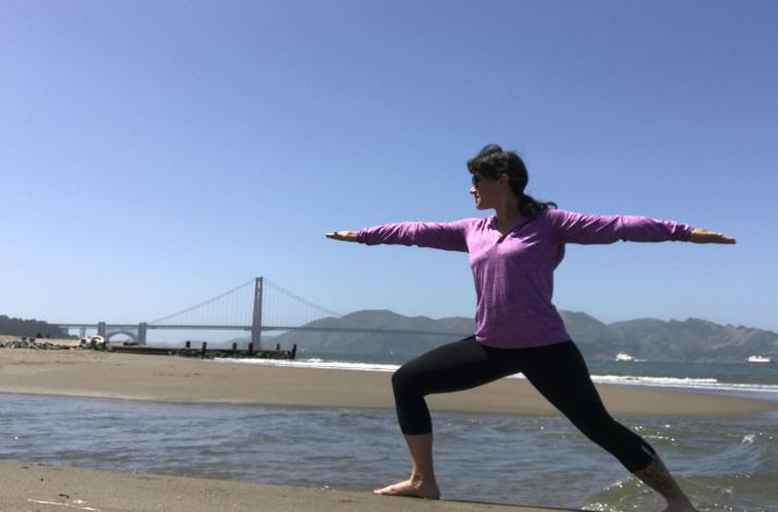 Yoga Happy Hour at Crissy Field: In San Francisco, California