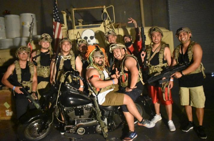Battle Zombies with Special Ops Heroes at Adventure Combat Ops: In Las Vegas, Nevada