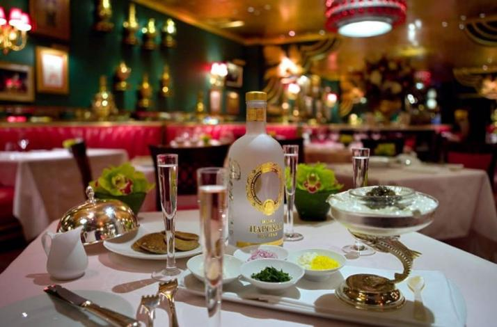 Champagne and Caviar Tasting a Private Tour of the Historic Russian Tea Room: In New York, New York