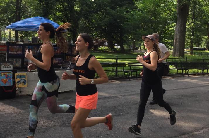 Central Park 5K Fun Run — A Unique Way to See New York on the Run: In New York, New York
