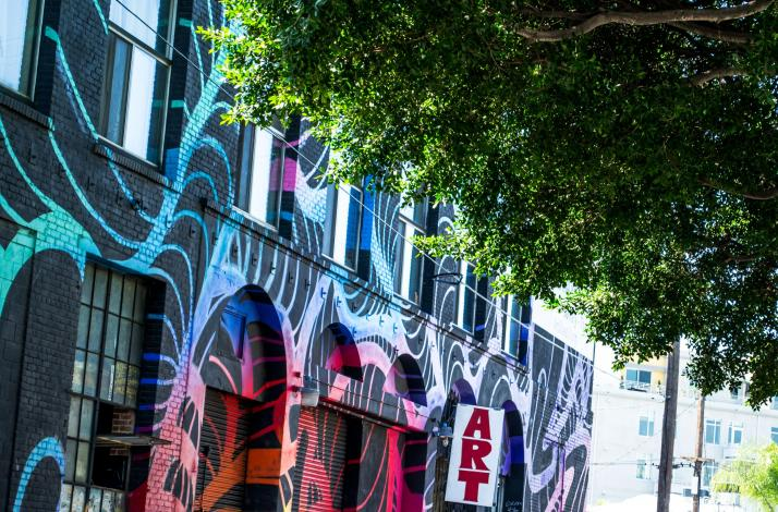Los Angeles Graffiti and Mural Walking Tour in Arts District with Private Guide: In Los Angeles, California (1)