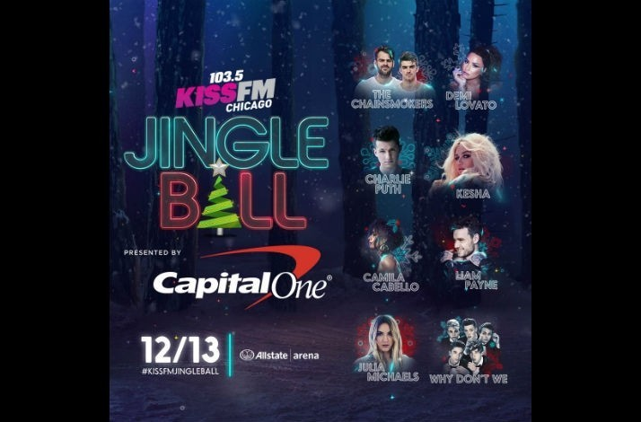 Meet demi lovato with tickets for four on december 13 to 1035 kiss meet demi lovato with tickets for four on december 13 to 1035 kiss fms jingle ball in chicago in rosemont illinois m4hsunfo