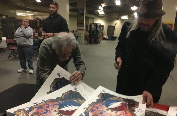 Dead & Company - Official Tour Poster Signed by Dead & Company