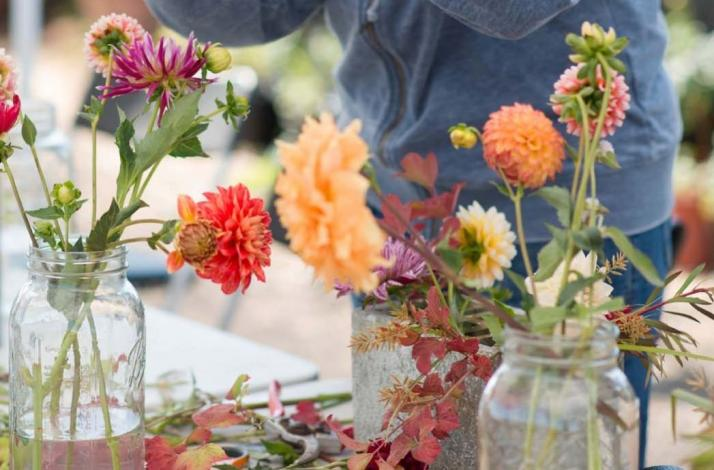 Transform a Store-Bought Bouquet into a Work of Art: In San Rafael, California