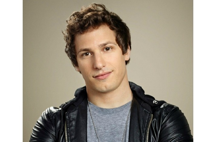 Meet andy samberg on the set of the hit show brooklyn nine nine in meet andy samberg on the set of the hit show m4hsunfo