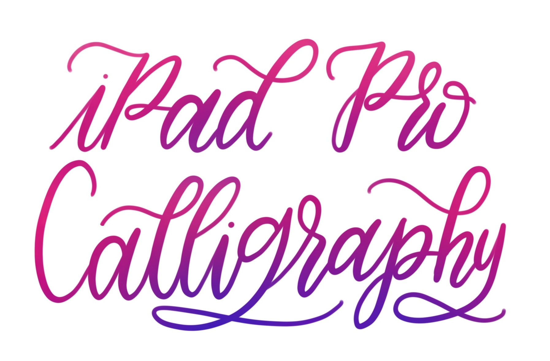 Get the Most out of Your IPad Pro and Procreate by Learning to Do Calligraphy Lettering : In New York, New York (1)