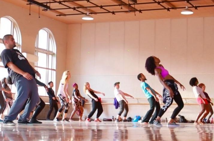 Diaspora Dance: Afro-Urban Large Group Dance Class with Alicia Langlais: In San Francisco, California