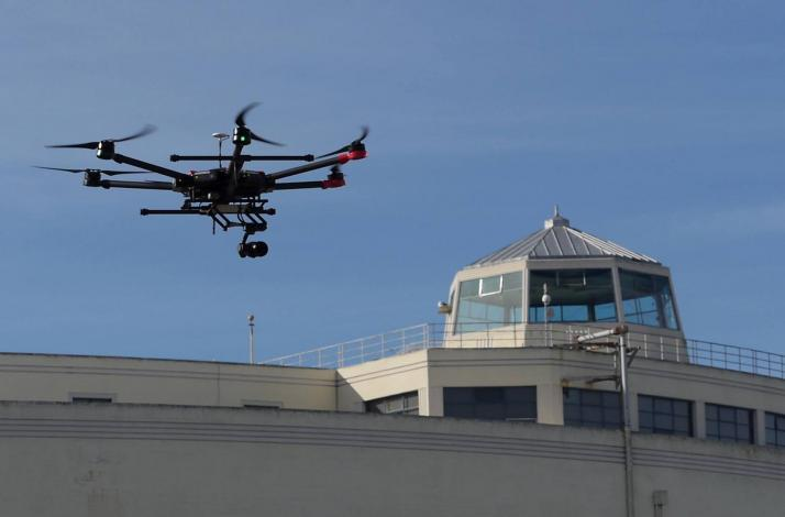 Learn How to Fly a UAV or Drone Using AR BT300: In San Francisco, California (1)