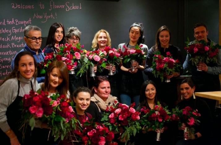 Ifonly Private Floral Design Class At Flowerschool New York In