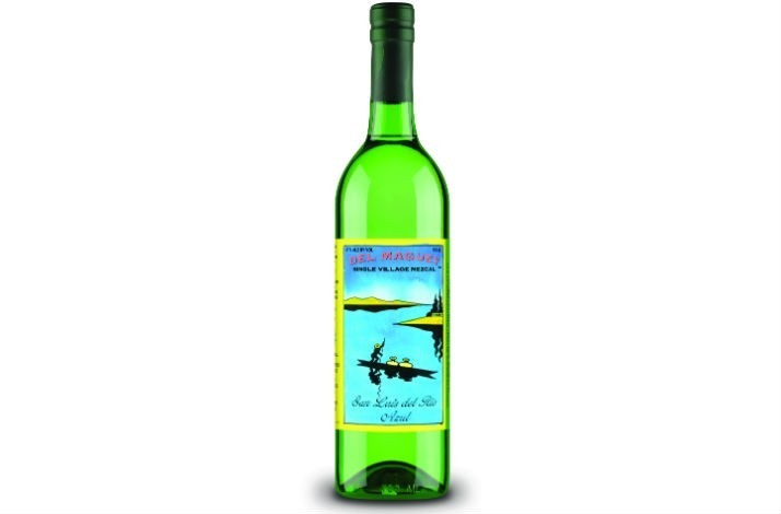 Bottle of Artisanally Produced Mezcal from Del Maguey, Single Village Mezcals