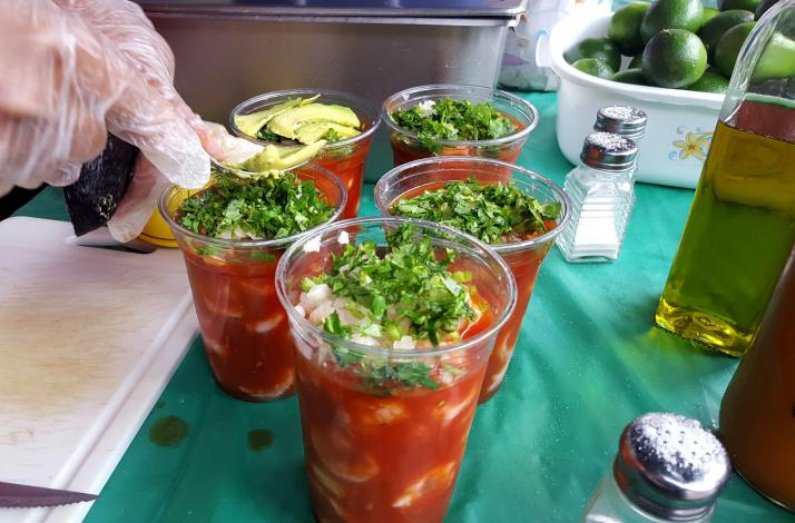 Eat Your Way Around the World Via the International Express: In New York, New York