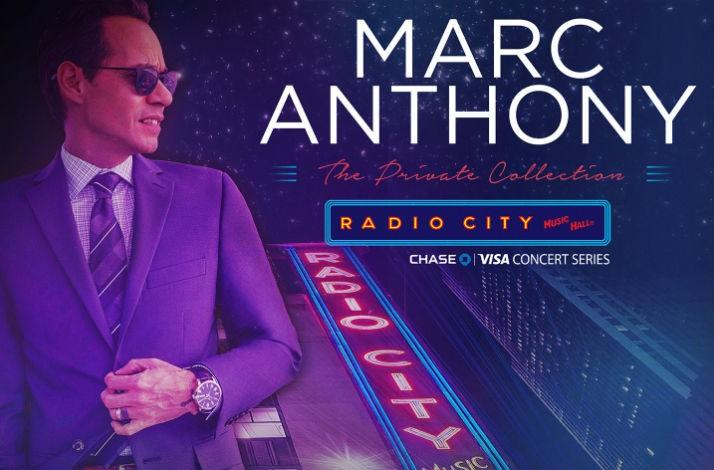 Marc anthony meet marc anthony at his concert and two up close meet marc anthony at one of his radio city music hall concerts and 2 close m4hsunfo