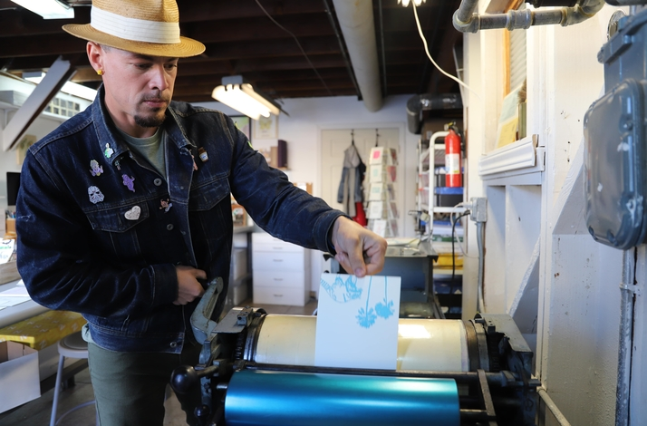 Letterpress Printing Workshop — Create Your Own Greeting Cards Using Old School Printing Techniques: In San Francisco, California (1)